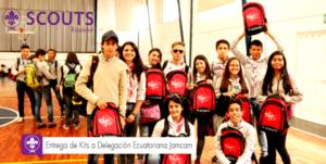 ¡Entrega de Kits a Delegación Ecuatoriana!