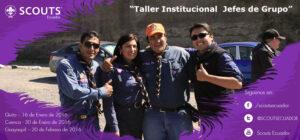 """""""Taller Institucional Jefes de Grupo"""""""