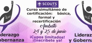 Capacitaciones para Dirigentes Scouts, Junio 2017