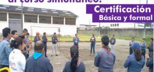 Dirigentes convocados al Curso de certificación básica y formal, Ambato 2017