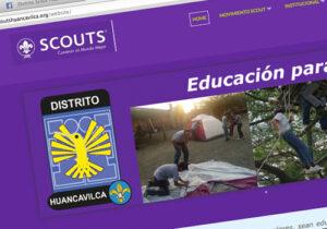NUEVA WEB DISTRITO HUANCAVILCA