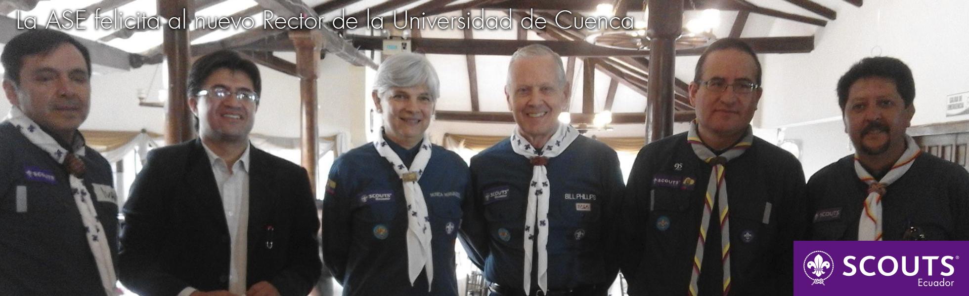 La ASE felicita al nuevo Rector de la Universidad de Cuenca