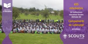 ¡Se desarrolló un Nuevo Campamento de Liderazgo en el Parque de la Familia en Ambato!