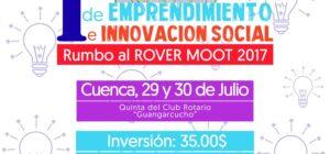 Campamento de Emprendimiento e Innovación Social, Cuenca 2017