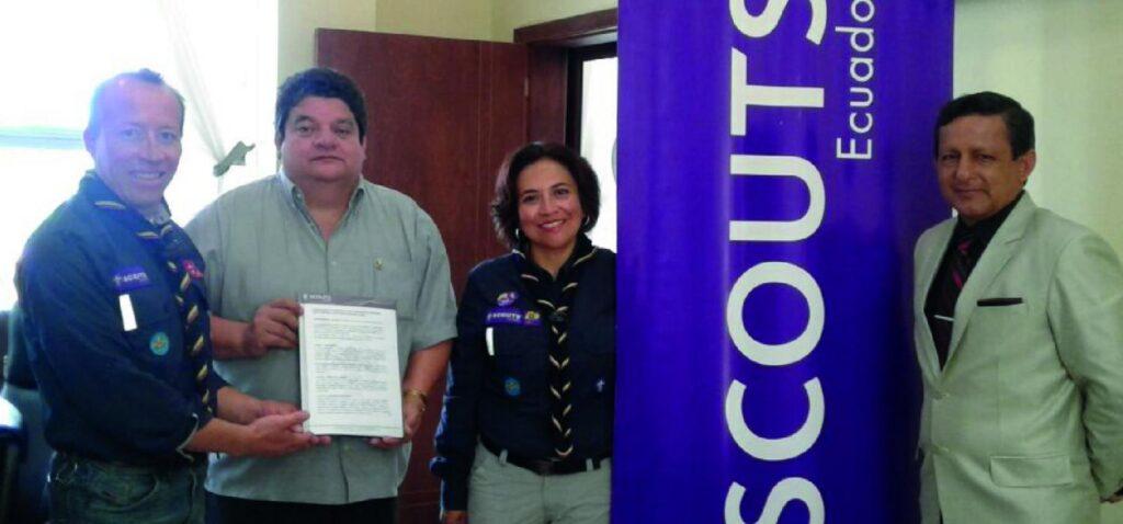 Convenio de Cooperación Interinstitucional, Universidad Estatal Amazónica y la Asociación de Scouts del Ecuador