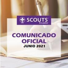 Comunicado Oficial | Junio 2021