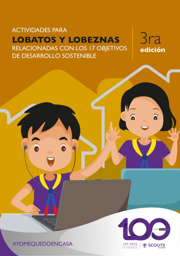 3era Edicion  Fichas de actividades en casa para la Unidad Manada orientadas a los 17 ODS