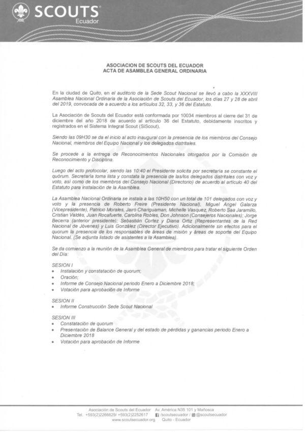 Acta Asamblea 2019