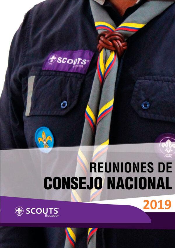 Reuniones de Consejo Nacional 2019_1
